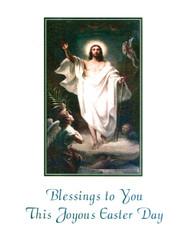 Sisters of carmel easter greeting cards blessings to you easter card m4hsunfo