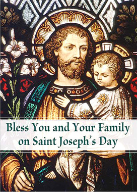 St. Joseph's Day Greeting Card
