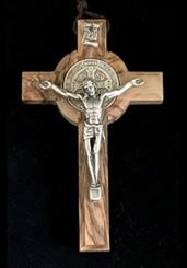 Olive Wood St. Benedict Crucifixes