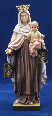 Our Lady of Mt. Carmel Statue