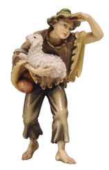 Boy with Sheep in his arms