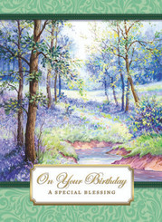 A Special Blessing Birthday Card