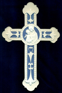 Virgin and Child Wall Cross