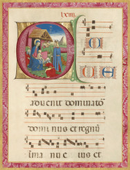 Illuminated Adoration of the Magi