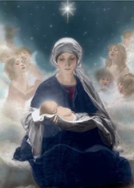 Star of Bethlehem Christmas Card