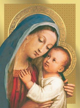 Mother of Good Counsel Christmas Cards