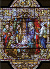 Nativity with Holy Women