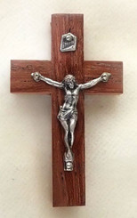 Small Rosewood Crucifix