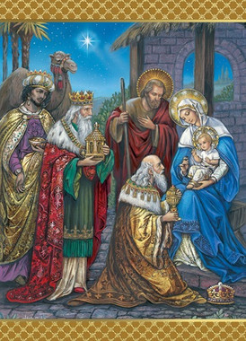 Adoration of the Wise Men