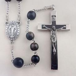 Tiger Ebony Rosary