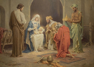 Chambers' Nativity Christmas Card
