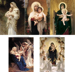 Bouguereau Assortment Christmas Cards