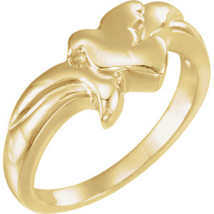 Gold Holy Spirit Dove Ring