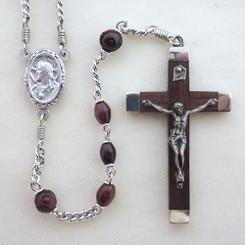 Cocoa Wood Rosary