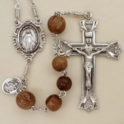 Robles and Walnut Wood Rosary