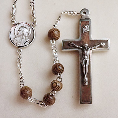 Small Robles Wood Rosary