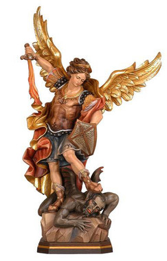 St. Michael the Archangel Statue - Style 1