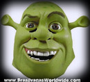 DLX SHREK GREEN COLOR MASK
