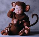 Tom Arma Deluxe Costume Animal Monkey