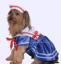 Pet Costume Sailor Girl