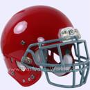 Adult Football Rawlings NRG Impulse Scarlet Helmet With Facemask