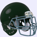 Adult Football Rawlings NRG Impulse Dark Green Helmet With Facemask