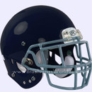 Adult Football Rawlings NRG Impulse Navy Helmet With Facemask