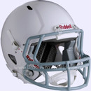Youth Football Riddell Victor White Helmet/Capacete w/Facemask