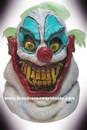 Deluxe Sloppy The Clown Latex Mask Mascara Palhaco