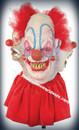 Deluxe Clowning Around Latex Mask Mascara Palhaco