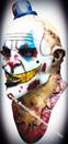 Deluxe Mime Zack Clown Latex Mask Mascara Palhaco