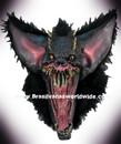 Super Deluxe Gruesome Bat Horror Collection Mask Mascara Morcego