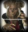 Deluxe Werewolf Wolf Horror Theater Mask Mascara Lobisomen Hombre Lobo