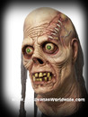 Ghastly Ghoul Zombie Creature Horror Mask Zumbi Mascara