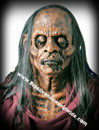 Deluxe Myra Mains Dead African Princess Zombie Mask w/hair Negra Zumbi