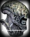 Alien Deluxe Collector Costume Mask Mascara Alien