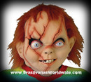 Chucky Seed Of Latex Horror Mask Halloween Mascara Boneco Assassino