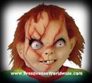 Chucky Seed Of Latex Horror Mask Halloween Mascara Boneco Assassino