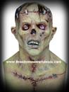 Deluxe Creature Monster Frankenstein Franky Horror Mask Mascara