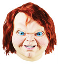 Chucky Childs Play 2 Costume Mask Mascara Terror Boneco Assassino