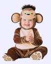 Mischievous Monkey Baby Costume Fantasia Macaco