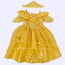 Belle Beauty and the Beast Baby/Infant Disney Costume Bela e a Fera