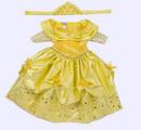 Disney Princess Beauty and the Beast Baby/Infant Costume A Bela e a Fera