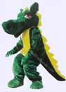Super Deluxe Adult Dragon Mascot Costume Party Dragao