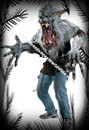 Super Realistic Creature Reacher Midnight Howl Wolf Costume Lobisomem