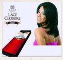 Lace Closure Saga Remy 100% Human Hair Aplique Cabelo Humano