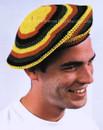Adult Rasta Jamaican Tams Costume Chapeu Rastafari