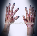 Halloween Costume Realistic Death Hands Zombie Maos Morto
