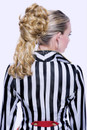 Amelie Ponytail Blonde Feench Kiss Festas Aplique Cabelo Loiro