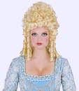 Marie Antoinette Halloween Blonde Wig Peruca Festas